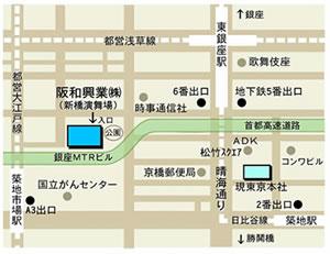 新東京本社地図